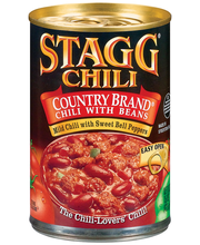 STAGG CHILI Country Brand W/Beans Chili 15 OZ CAN
