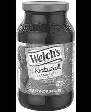Welch's® Natural Strawberry Spread 17 oz. Jar