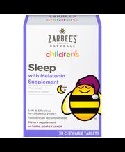 Zarbee's Naturals Children's Sleep with Melatonin Chewable Ta...