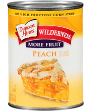 Duncan Hines® Wilderness® More Fruit Peach Pie Filling & Topp...
