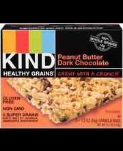 Kind Healthy Grains® Peanut Butter Dark Chocolate Granola Bar...
