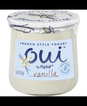 Oui™ by Yoplait® Vanilla French Style Yogurt 5 oz. Jar