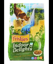 Purina Friskies Indoor Delights Cat Food 3.15 lb. Bag