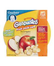 Gerber® Fruit Pick-Ups™ Diced Apples 4.5 oz. Sleeve