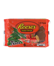 Reese's Holiday Peanut Butter Trees 6-1.2 oz. Packages
