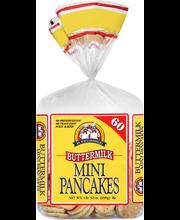De Wafelbakkers Mini Buttermilk Pancakes 60 ct Bag