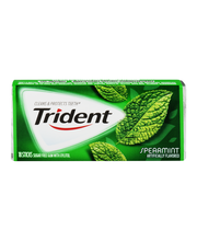 Trident Spearmint Sugar Free Gum with Xylitol 18 Stick Pack