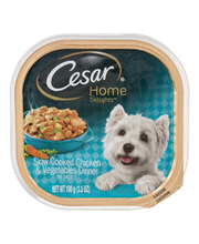 Cesar® Home Delights™ Canine Cuisine Slow Cooked Chicken & Ve...