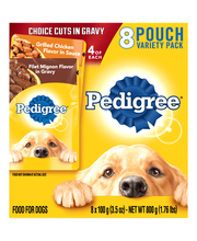 Pedigree® Chopped Ground Dinner Variety Pack Wet Dog Food 8-3...