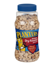 Planters Unsalted Dry Roasted Peanuts 16 oz. Jar