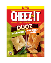 Cheez-It Duoz® Jalapeno & Cheddar Jack Baked Snack Crackers 1...