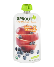 Sprout Organic Baby Food Apple & Blueberry