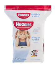 Huggies® Simply Clean® Fragrance Free Baby Wipes 240 ct Pack