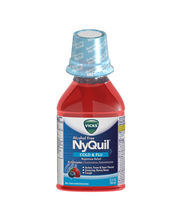 Vicks® NyQuil™ Alcohol Free Cold & Flu Nighttime Relief Liqui...