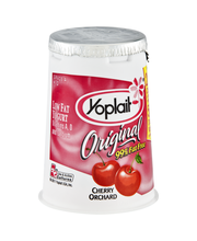 Yoplait® Original Cherry Orchard Low Fat Yogurt 6 oz. Cup