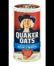 Quaker Oats® 100% Whole Grain Quick 1 Minute Oatmeal 42 oz. C...
