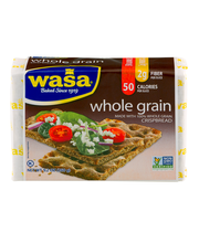 Wasa® Whole Grain Crispbread 9.2 oz. Wrapper