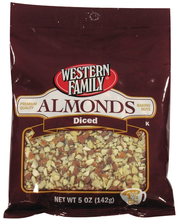 Wf Almonds Diced