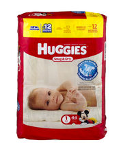 Huggies® Snug & Dry* Size 1 Diapers 44 ct Pack