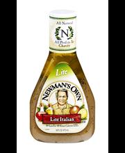 Newman's Own Lite Italian Dressing