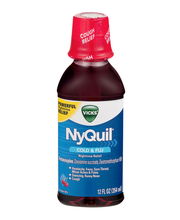 Vicks NyQuil Cold & Flu Nighttime Relief Cherry Flavor Liquid...