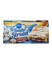 Pillsbury Toaster Strudel Pastries Cinnamon Roll with Brown S...