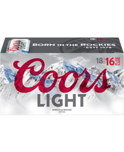 Coors Light Beer 18-16 fl. oz. Cans