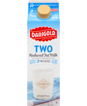 Darigold® Two Reduced Fat Milk 1 qt. Carton