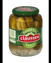 Claussen Kosher Dill Whole Pickles 32 fl. oz. Jar