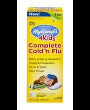 Hyland's 4 Kids Complete Cold 'n Flu