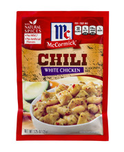 McCormick® White Chicken Chili Mix, 1.25 oz. Packet