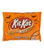 Kit Kat® Orange-Colored Halloween Treats Snack Size Candy 10....