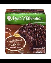 Marie Callender's® Double Chocolate Mini Cakes 5.8 oz. Box
