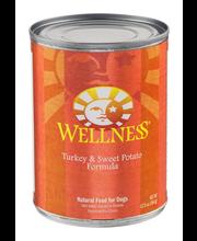 Wellness Natural Dog Food Turkey & Sweet Potato Formula