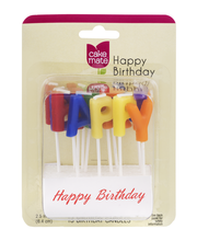 Cake Mate Happy Birthday Candles - 13 CT