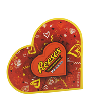 Reese's Peanut Butter Cups Miniatures Valentines Heart-Shaped...