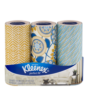 Kleenex® Perfect Fit™ Facial Tissues 3-150 Ct Tubes