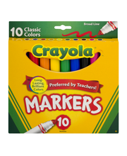 Crayola Markers Classic Colors - 10 CT