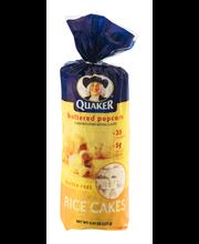 Quaker® Buttered Popcorn Rice Cakes 4.47 oz. Bag