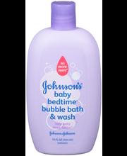 Johnson's® Baby Bedtime® Bubble Bath & Wash 15 fl. oz. Squeez...