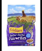 Purina Friskies Surfin' & Turfin' Favorites Cat Food 3.15 lb....