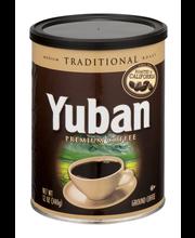 Yuban Traditional Roast Ground Coffee 12 oz. Canister