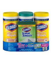 Clorox Disinfecting Wipes Value Pack - 3 CT