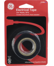 GE Electrical Tape, 20 Ft x 3/4 In