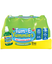 Tum–E Yummies® Greentastic Apple Fruit Flavored Water Drink 1...