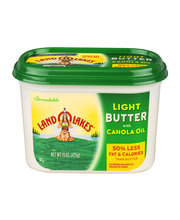 Land O' Lakes® Spreadable Light Butter with Canola Oil 15 oz....