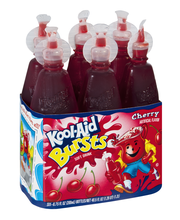 Kool-Aid Bursts Cherry Soft Drink 6-6.75 fl. oz. Bottles