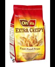 Ore-Ida® Extra Crispy Fast Food Fries® 26 oz. Bag
