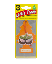 Little Trees Air Fresheners Coconut - 3 CT