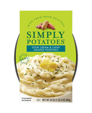 Simply Potatoes® Sour Cream & Chive Mashed Potatoes 24 oz. Box